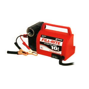 Tuthill fill rite Fr1612 12v Fuel Transfer Pump