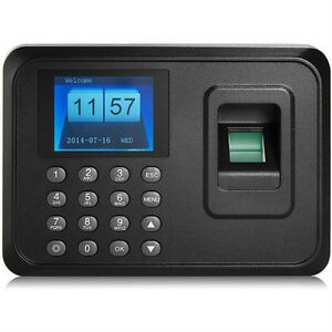Usb Tcp ip Password Fingerprint Time Recorder Clock Attendance Employee Salary