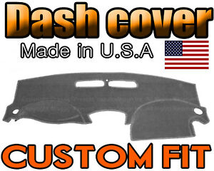Fits 2004 2007 Chevrolet Malibu Dash Cover Mat Dashboard Pad Charcoal Grey