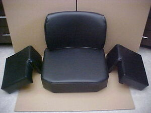 New Seat For John Deere 350 450 550 Crawler Dozer Deluxe Set With Extra Padding