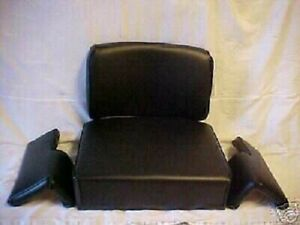 4 Pc Seat Set For John Deere Tractor Crawler Dozer 350 350b c 450 450b c 550