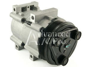 New Ac A C Compressor Fits 1994 2004 Ford Mustang V6 3 8l Only