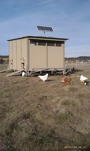 Large Mobile Chicken Coop