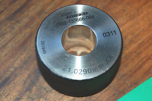 Mahr Federal 27 200mm X Master Bore Gage Setting Ring Calibration Hole