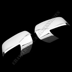 For 09 10 11 12 Dodge Ram Chrome Mirror Covers Trim Covers