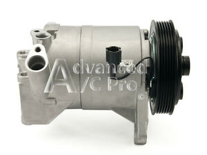 New Ac A c Compressor Fits 2002 2003 2004 2005 Nissan Altima V6 3 5l Only