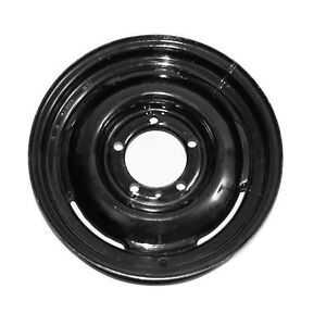 Omix Ada 16725 01 Black 16 X 4 5 Steel Wheel For Willys And Jeep Models