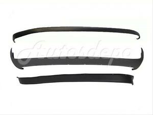 Bundle For 94 01 Dodge Pickup Ram Front Bumper Upper Pad Lower Valance Air Dam Fits More Than One Vehicle
