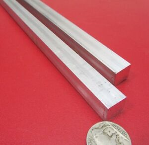 6061 T651 Aluminum Square Bar 500 1 2 Thick X 1 2 Wide X 36 Length 2 Pc