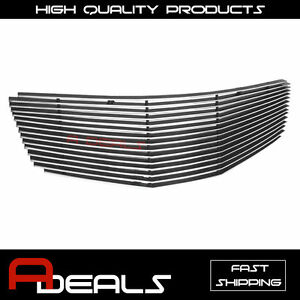 For Nissan Maxima 2007 2008 Upper Billet Grille Grill Insert A D