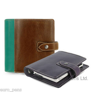 Filofax Malden Pocket Size Leather Organiser All Colours Available