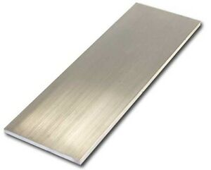 6061 T651 Aluminum Sheet 2 0 Thick X 6 0 Wide X 36 Length 1 Pcs