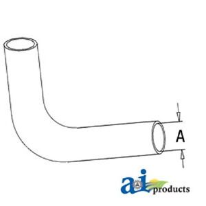 Lower Bottom Radiator Hose For Ford Tractor 2n 8n 9n Naa Jubilee 2000 4000 900