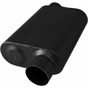 Flowmaster Muffler 40 Series 3 Inlet 3 Outlet Stainless Steel Each