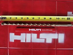 Hilti Te c 1 2 X 12 Sds Plus Preowned free Hilti Pencil l k Fast Shipping