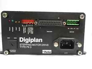Parker Digiplan Stepping Motor Drive Type Pk3
