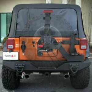 Rugged Ridge 11546 25 Xhd Gen Ii Swing And Lock Tire Carrier For Jeep Wrangler