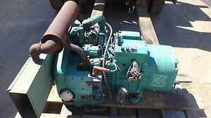 Onan 5 0kw 120 240 Volts Commercial Generator Genset Rv turns Well