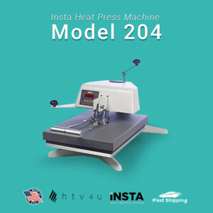 Insta Heat Press Model 204 free Shipping