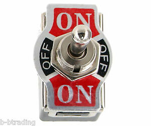 Heavy Duty 20a 125v 15a 250v Dpdt 6 Term On Off On Momentary Toggle Switch