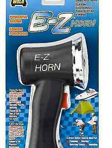 Wolo 496 E z Horn Hand Held Electronic Horn Powered By 9 volt Battery