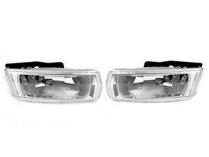 Depo 2004 2006 Chevy Malibu Replacement Fog Light Lamp Set Pair Left Right