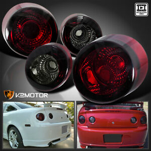 2005 2010 Chevy Cobalt 2d 2dr Tail Lights Rear Stop Brake Lamps Smoke Left Right