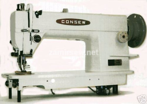 Consew 205rb Industrial Sewing Machine Walking Foot New Complete Stand