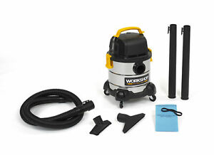 Workshop Wet Dry Vacs Ws0400ss 4 gallon Stainless Steel Portable Wet Dry Vacuum