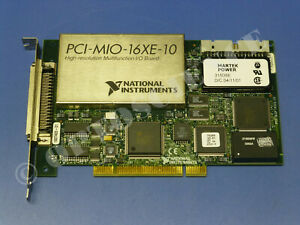 National Instruments Pci mio 16xe 10 pci 6030e Ni Daq Card Multifunction