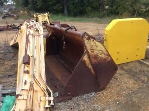 Used 644g Bucket 644g 644g 4 in 1 Bucket quick Attach