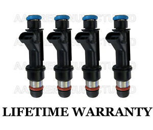 Genuine Delphi Set Of 4 Fuel Injectors For 99 02 Chevy Olds Pontiac 2 4l