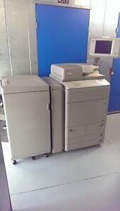 Cannon Imagerunner Advance C9075s Pro With Booklet Finisher color Low Meter