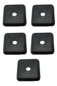 8020 Equivalen 15 Series Bland End Cap Without Push in Fastener 2030 5 5 Pack