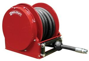 Reelcraft Fsd14035 Olp 1 X 35 Low Profile Hose Reel For Fuel oil With Hose