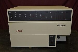 Becton dickinson Facscan Analytical Flow Cytometer Parts Missing