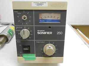 Sonifier 250 Cell Disruptor Analog 120v 200 Watts