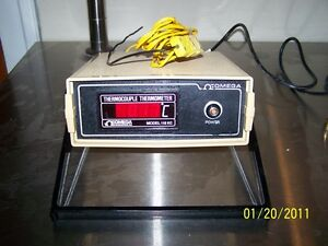 Omega Engineering Thermocouple Digital Thermometer 115kc