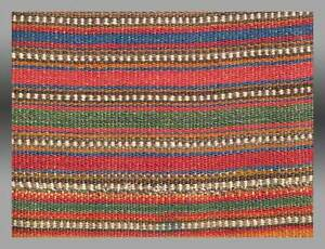 Kurd Flat Woven Bed Cover Jajim Wonderful Colors Fine Weave