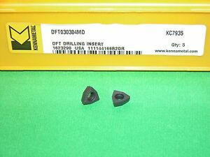Dft 030304md Kc7935 Kennametal Carbide Inserts 5 Pieces Factory Pack