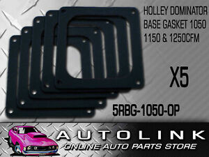 Holley Dominator Base Gasket Open Hole For Holley Carby 1250cfm 4500 X5