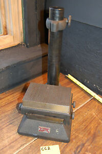 Standard Gage Stand Large Anvil Adjustable 4 X 6 Standard Test Stand
