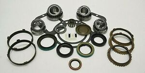 Gm Nv 4500 Bearing Seal Kit With Syncro Rings 1996 Up Chevy 5 Speed Bk308bws