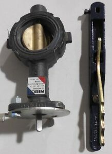 Nibco Wd 2000 3 Series Ductile Iron Butterfly Valve With Epdm Liner And Aluminum