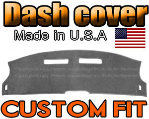 Fits 1984 1992 Chevrolet Camaro Dash Cover Mat Dashboard Pad Charcoal Grey