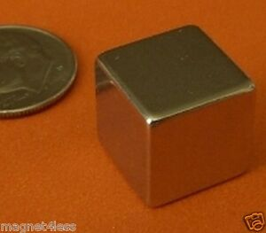 4 Pieces Of 1 2 Inch Cube Strong Rare Earth Neodymium Magnet 1 2x1 2x1 2
