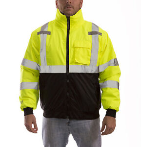 Tingley Job Site j26002 Premium Bomber Jacket Ansi Class 3 Waterproof m 5xl