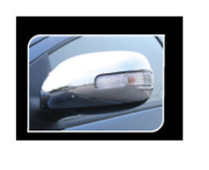 Chrome Lh Rh Side Mirror Cover Trim For Toyota Belta Yaris Vios Sedan 2007 2012