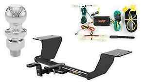 Curt Class 2 Trailer Hitch Tow Package For Toyota Camry W 2 Ball
