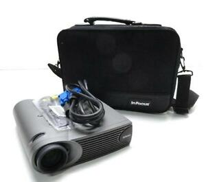 Infocus Lp335 Portable Projector With Case And Executive Plus Remote Control